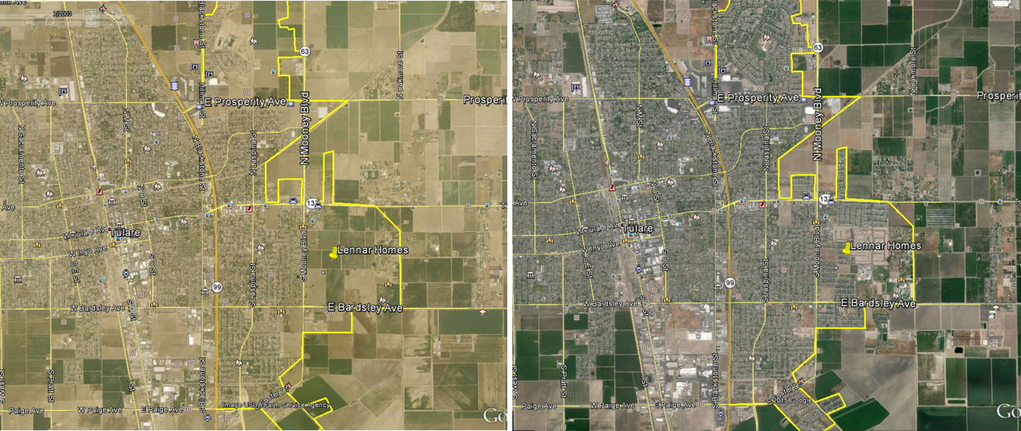 Tulare 2003 to 2014