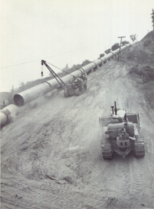 2nd Aqueduct Construction at Terminal Hill.