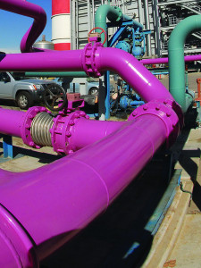 purple pipe